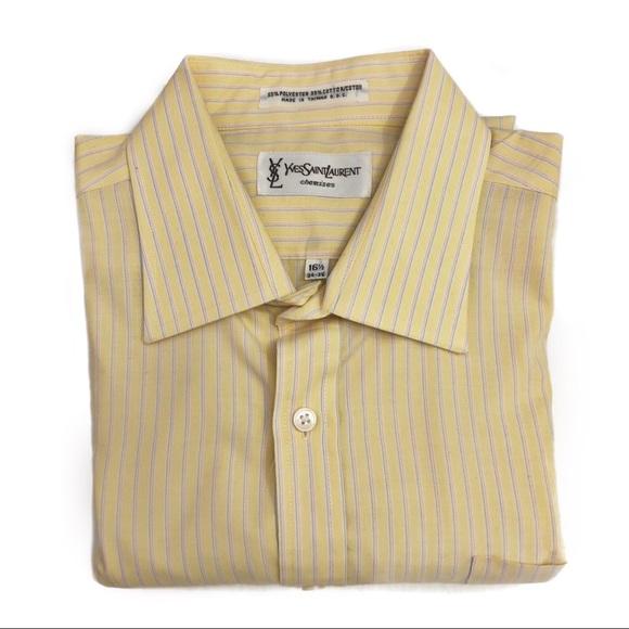71a9bc88 Yves Saint Laurent Shirts   Mens Button Down Shirt   Poshmark